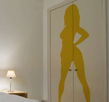 Sexy Silhouette Wall Sticker