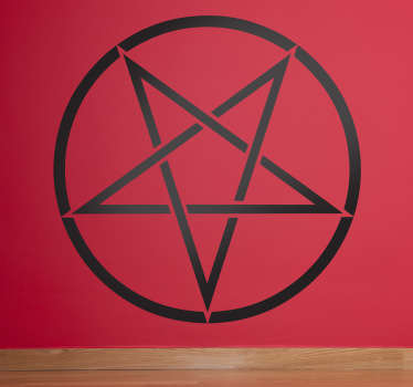 Mark of the Devil Star Sticker