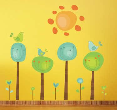 Kids Sunny Spot Wall Sticker