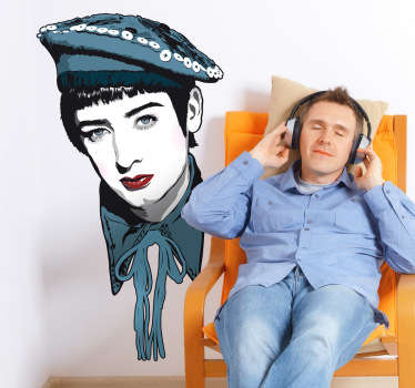 Naklejka dekoracyjna retro Boy George