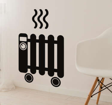 Radiator Sticker