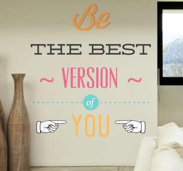 Best You Wall Sticker