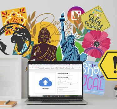 Sticker decorativi per Ipad ispirazione William