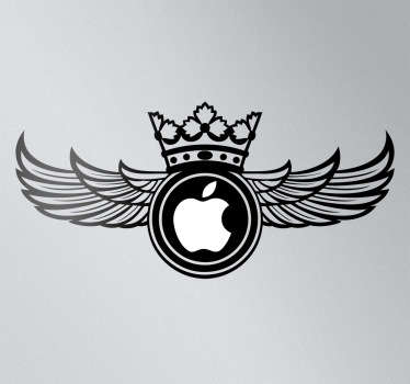 Soviet Wings MacBook Sticker