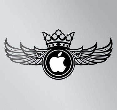 Sticker PC Apple ailes soviétiques