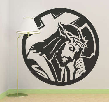 Passion of Christ Wall Sticker