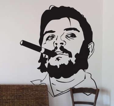 Sticker decorativo volto Che Guevara