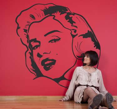 Sticker film Hollywood Marilyn Monroe