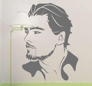 Leonardo DiCaprio Wall Sticker