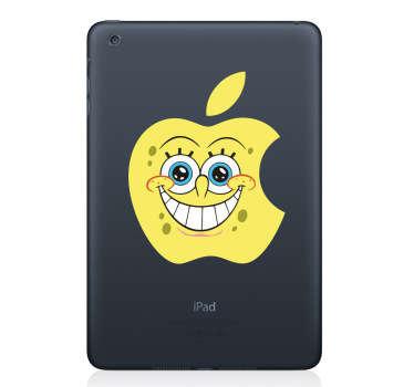 Skin adesiva portatile SpongeBob mela