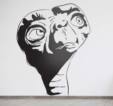 Sticker decorativo ritratto ET