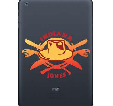 Skin adesiva portatile Indiana Jones