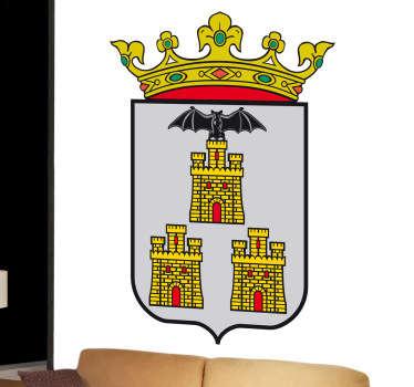 Vinilo decorativo escudo Albacete