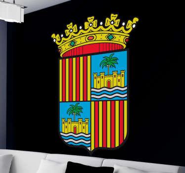 Vinilo decorativo escudo Baleares