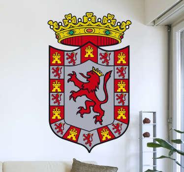 Vinilo decorativo escudo Córdoba