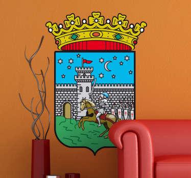 Vinilo decorativo escudo Guadalajara