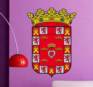 Vinilo decorativo escudo Murcia