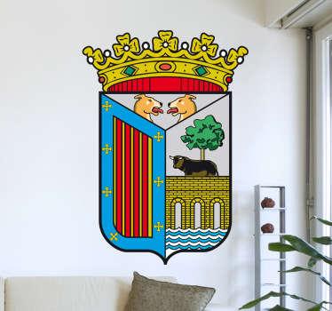 Vinilo decorativo escudo Salamanca