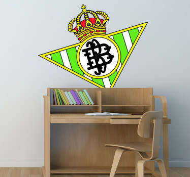 Adesivo murale scudo Real Betis Balompié
