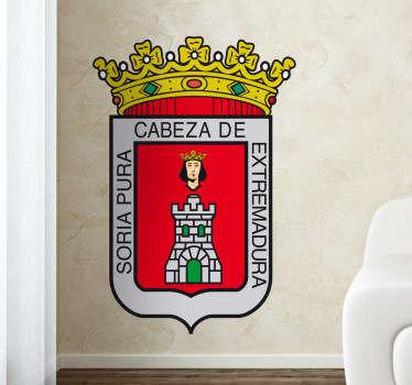 Vinilo decorativo escudo Soria