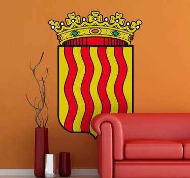 Vinilo decorativo escudo Tarragona