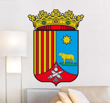 Wandtattoo Emblem Teruel
