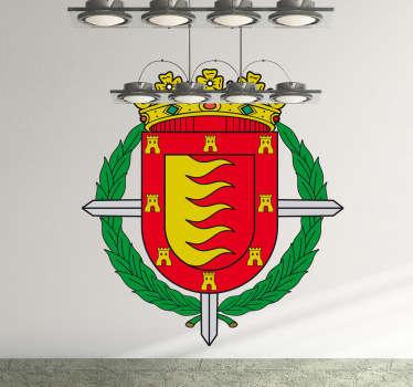 Vinilo decorativo escudo Valladolid