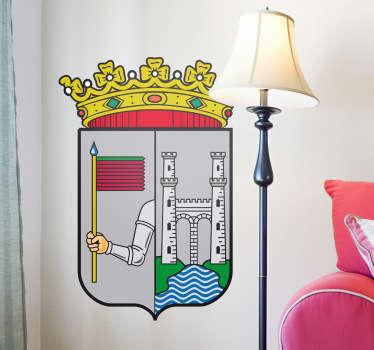 Wandtattoo Emblem Zamora