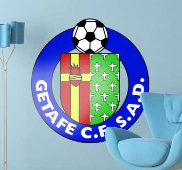Vinilo decorativo escudo Getafe