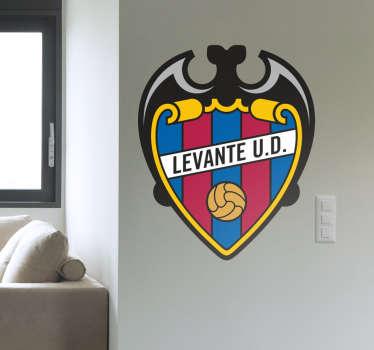 Vinilo decorativo escudo Levante UD