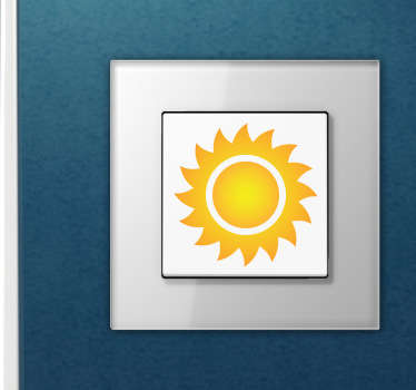 Sunshine Switch Sticker