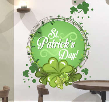 St. Patrick's Day Wall Sticker