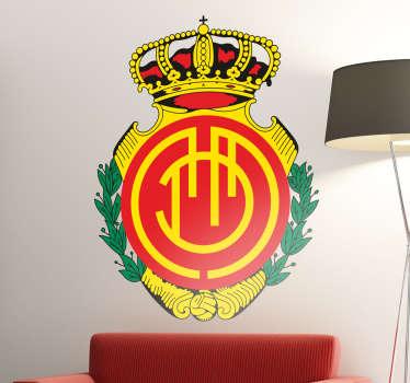Vinilo decorativo escudo RCD Mallorca