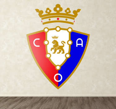 Vinilo decorativo escudo CA Osasuna