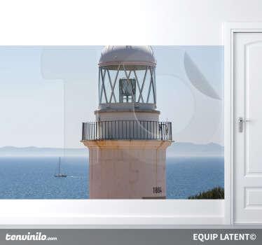 Wandtattoo Leuchtturm Ausblick