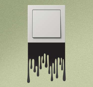 Adesivo interruptor manchas