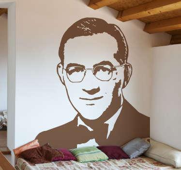 Naklejka dekoracyjna Benny Goodman portret