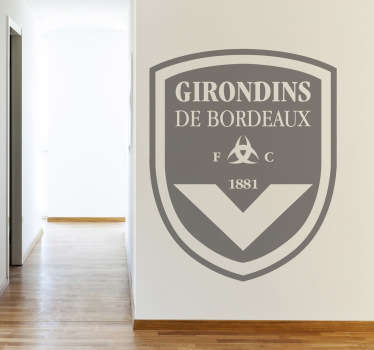 Sticker logo Girondins de Bordeaux