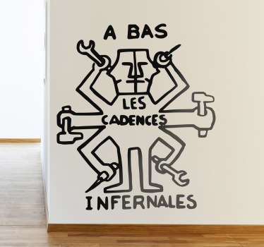 Sticker cadences infernales