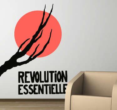 Sticker revolution essentielle