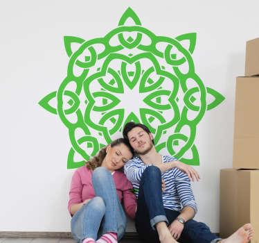 Vinilo decorativo simbolo celta geometría