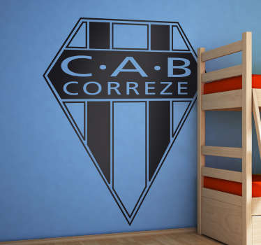 Sticker embleme CAB Correze