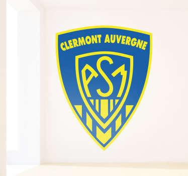 Stickers représentant le logo de l'équipe de rugby créé en 1911 par Marcel Michelin : Le ASM Clermont Auvergne.