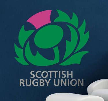 Sticker logo rugby Ecosse