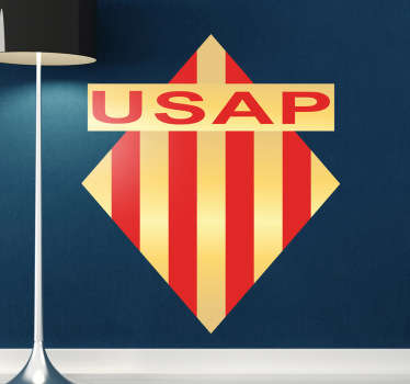 Sticker logo rugby USAP Perpignan