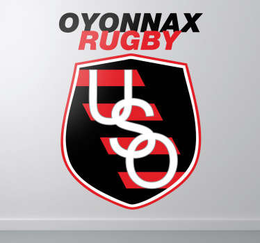 Oyonnax Rugby Sticker