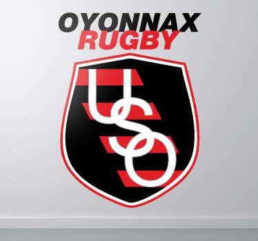 Vinilo escudo Oyonnax rugby