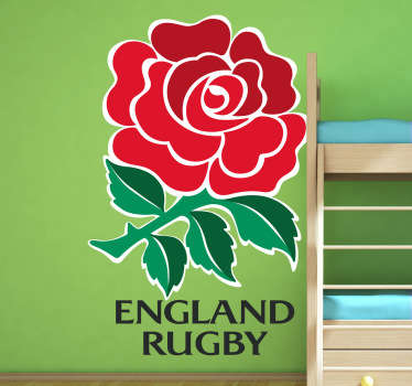 Adesivo murale logo Inghilterra Rugby