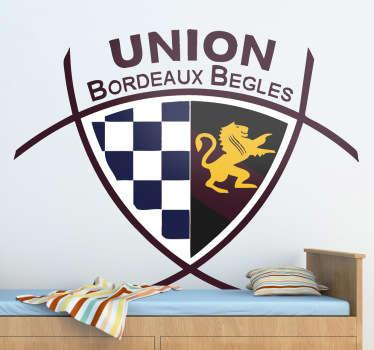 Sticker Union Bordeaux Bègles