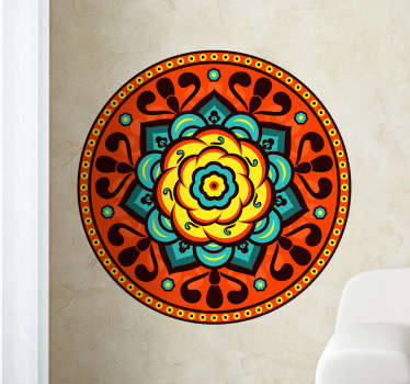 Florist Rosette Wall Sticker